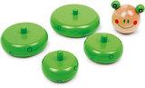 Stapel speelgoed - kikker - groen_