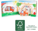 Houten boekje - brandweer (interactief) - FSC®_