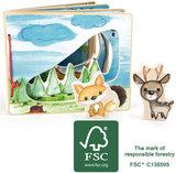Plaatjes boek - in het bos - interactief - FSC_