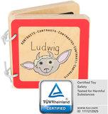 Ludwig het geitje - Baby boekje (contrast)_