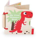 """Houten boekje """"Mijn eerste Dinosaurus""""_"""