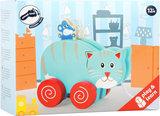 """Trekfiguur dieren """"Kat en muis""""_"""
