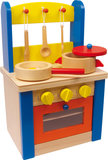 Houten speelgoedkeuken - small_