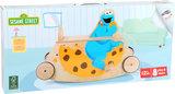 Loopwagen + Ride-on - SESAMSTRAAT - Koekiemonster - FSC_