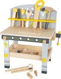 Houten speelgoed werkbank compact - Miniwob_