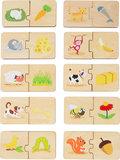 Houten leerspel - puzzel_