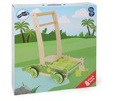 Krokodillen loopwagen met 24 blokken_