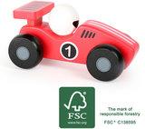 De rode race auto - FSC_
