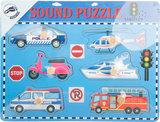 """Puzzel """"Voertuigen met geluid""""_"""