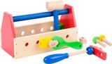 Kleurrijke gereedschapskist - hout_