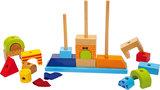 Blokken stapelspel - Multikleuren - Kasteel_