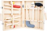 Houten kist - 8 soorten gereedschap_