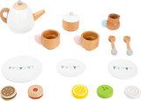 Houten theeset voor kinderen - 17 stuks_