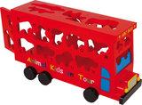 ABC vormenstoof bus - rood_
