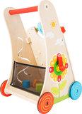 Loopwagen met verschillende leerzame spellen - Multi kleuren_