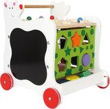 Loopwagen met leuke beer - Vormen, kleuren en letters leren herkennen_