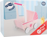 Houten poppenwagen Girls' Dream_