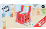 Loopwagen met keukentje - Rood_