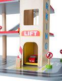 Parkeerplaats + lift_