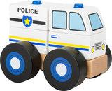 Bouwvoertuig -  Politie auto - FSC_