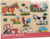 """Puzzel """"Op de boerderij""""_"""