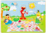 Puzzel SESAMSTRAAT - Picnic met Elmo - FSC_