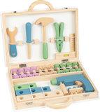 Houten speelgoed toolbox - Nordic_