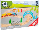 """Junior collectie - houten treinbaan """"de grote reis""""_"""