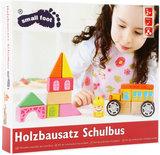 Houten constructie set - Schoolbus_