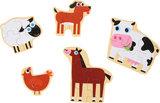"""Puzzelbox """"dieren op de boerderij""""_"""