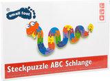 Houten puzzelslang - ABC leren_