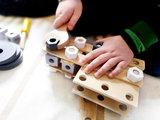 Houten constructie set 'Miniwob'_