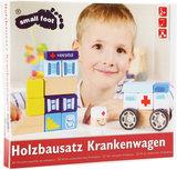 Bouwset met geluid - Ambulance, broeder + ziekenhuis_