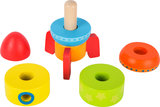 Kleurrijke stapelblokken - Voor jonge raketwetenschappers_