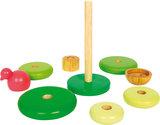 9 delig houten stapel blokken - motoriek trainer_