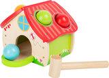 """Hamerbank """"Huis"""" - Kleuren ballen_"""