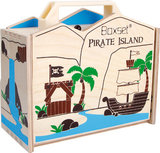 Piraten eiland in een box_