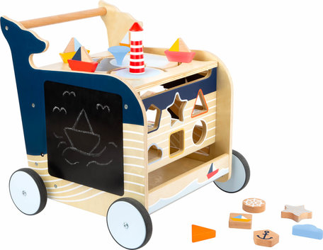 Baby Walvis Loopwagen