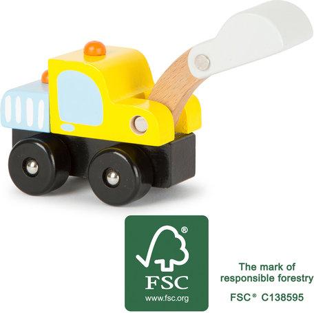 Graafmachine auto - Voertuig - FSC