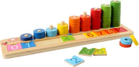 Telraam - Leer tellen met houten ringen