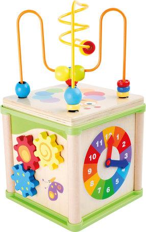 Insecten activiteitenkubus - multi kleuren
