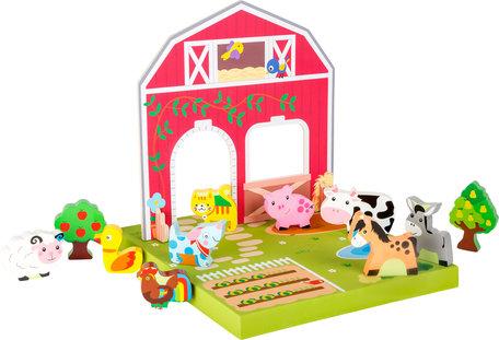 Op de boerderij - speelwereld