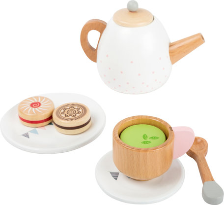 Houten theeset voor kinderen - 17 stuks