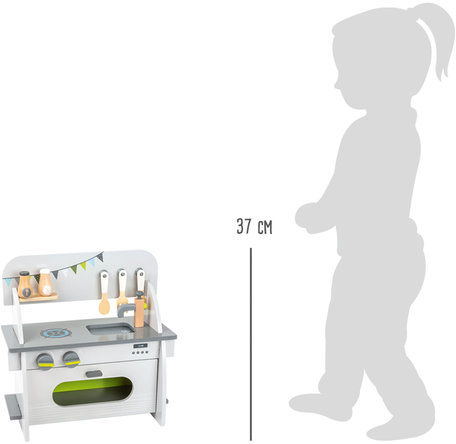 Compacte speelkeuken hout - FSC