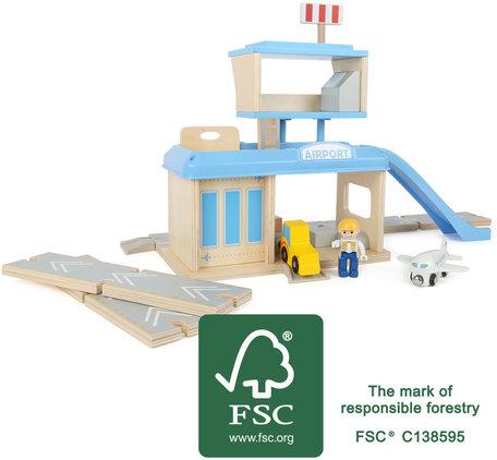 Vliegveld met accessoires - FSC