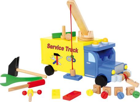 Service auto - geel