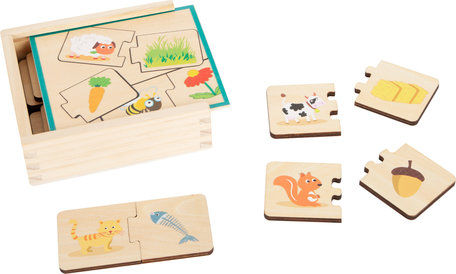 Houten leerspel - puzzel