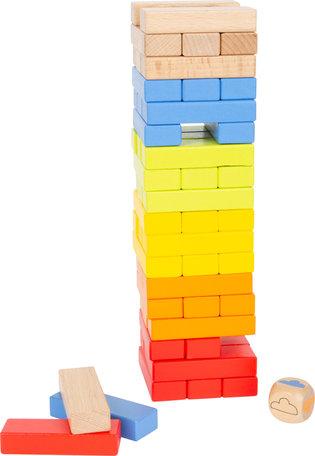 Wiebelige regenboog toren