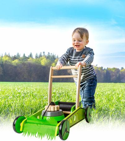 Loopwagen Grasmaaier