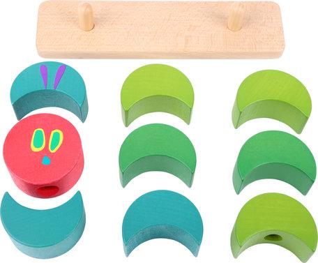 Rupsje nooitgenoeg  stapel speelgoed